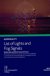 BAP-0074 Admiralty Light List Volume A