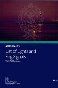 BAP-0078 Admiralty Light List Volume E