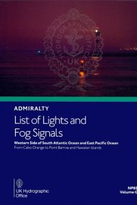 BAP-0080 Admiralty Light List Volume G