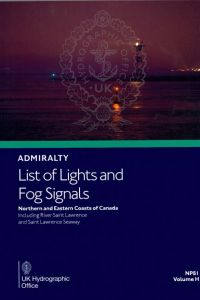 BAP-0081 Admiralty Light List Volume H
