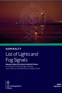 BAP-0082 Admiralty Light List Volume J
