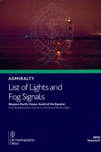 BAP-0083 Admiralty Light List Volume K