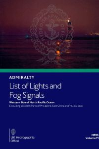 BAP-0085 Admiralty Light List Volume M