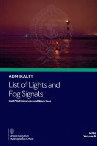 BAP-0086 Admiralty Light List Volume N