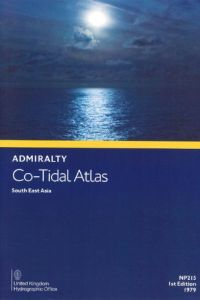 BAP-0215 Admiralty Co-Tidal Atlas: South East Asia (Edition 1979)