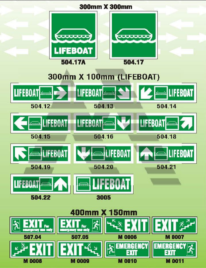 Directional Signs 2