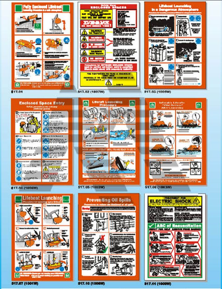 Marine Safety Posters 1