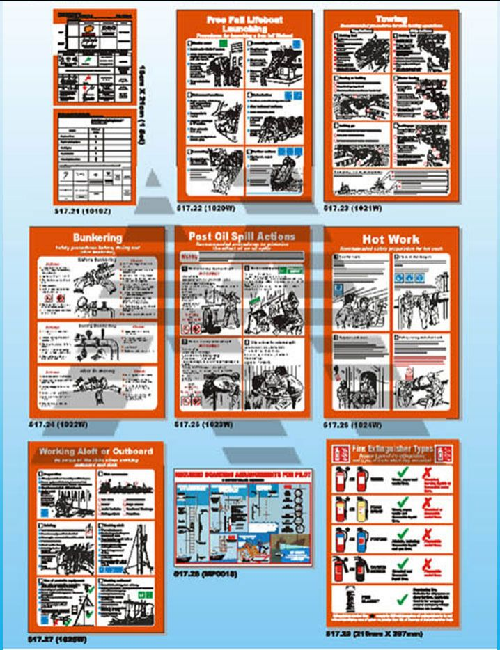 Marine Safety Posters 3
