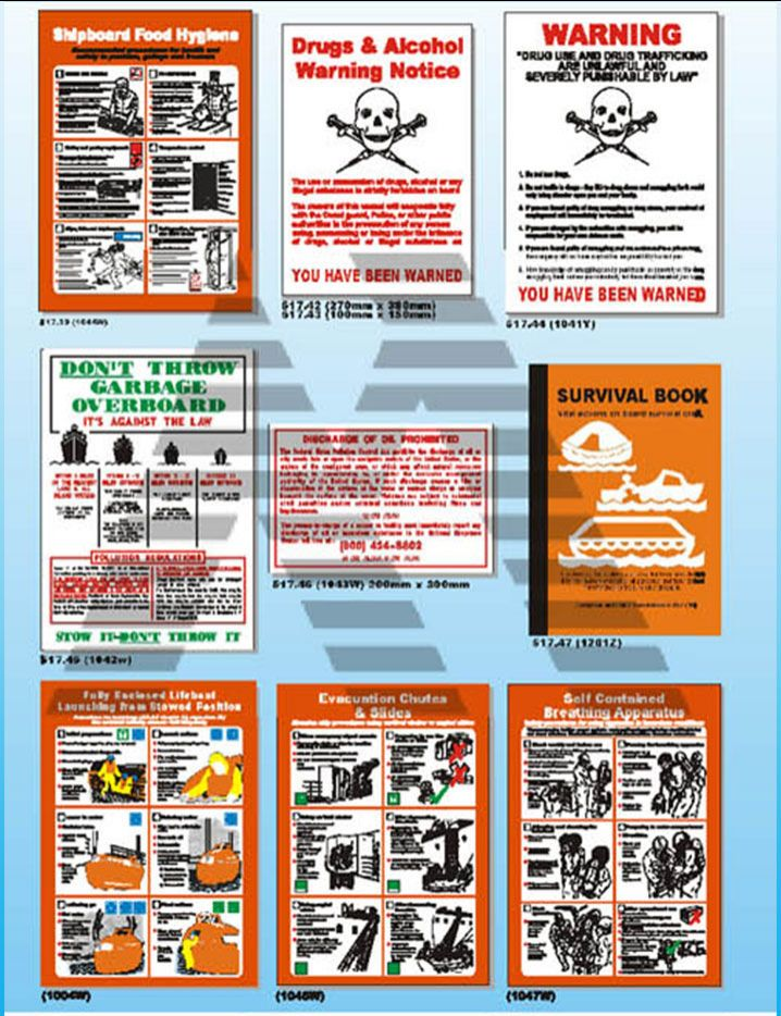 Marine Safety Posters 5