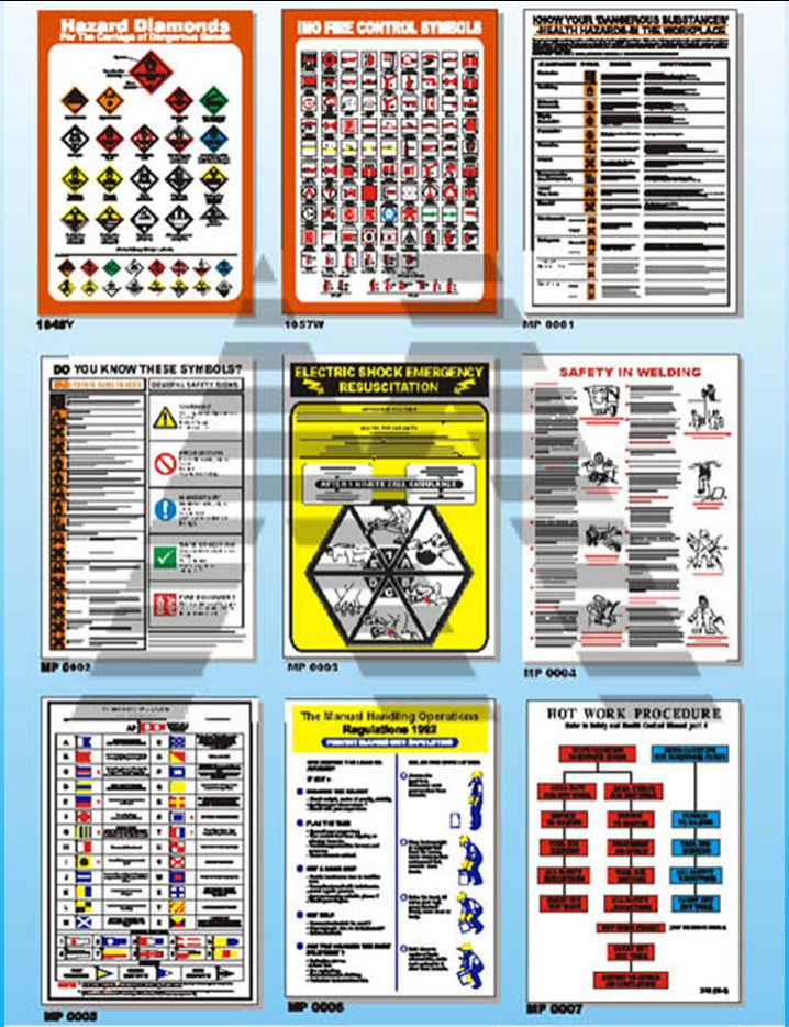 Marine Safety Posters 6