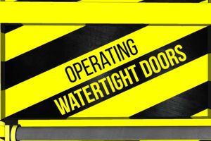 Maritime Training: Powered Watertight Door Safety