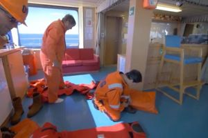 Maritime Training: Immersion Suit Training